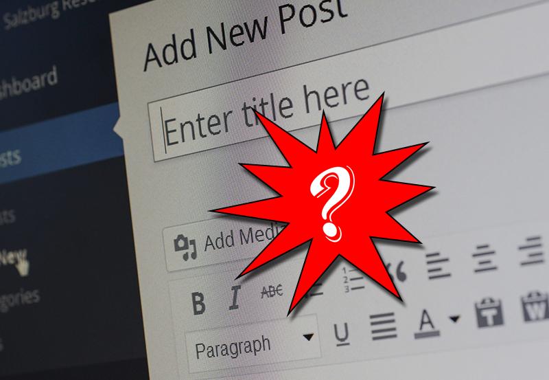 Five Reasons – Why we use WordPress